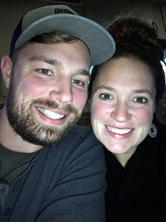 Jennie with her husband