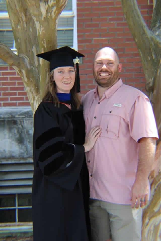 Katie at graduation