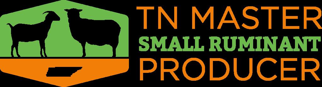 Tennessee Master Small Ruminant Producer Logo - horizontal
