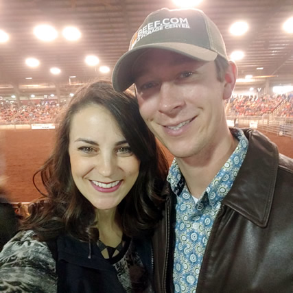 Amanda and her husband Kyle