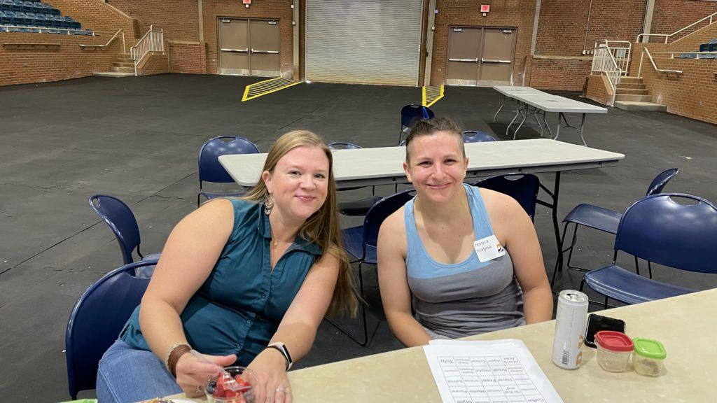 Rebecca Payton and Jessica Klabnik