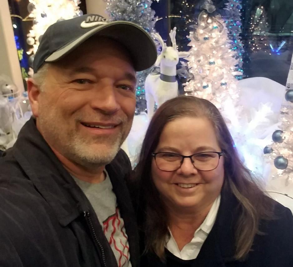 Brenda and her husband